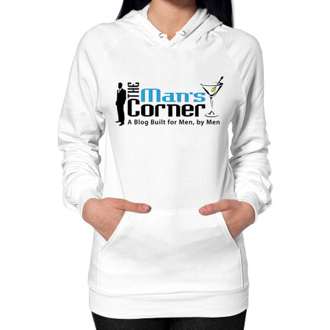 Hoodie (on woman) White Man's Corner