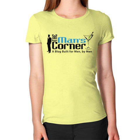 Women's T-Shirt Lemon Man's Corner