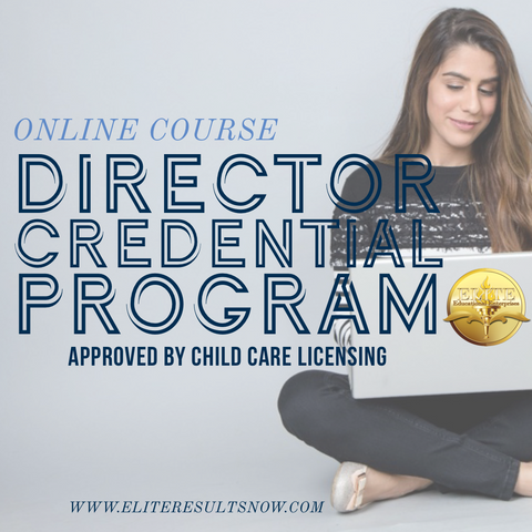 Texas Director Credential Program - elite-educational