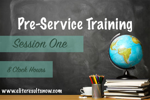 Pre-Service Training (Session 1) - elite-educational