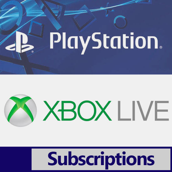 Buy Xbox Live Gold Membership, PSN Subscriptions & Steam Wallet Cash