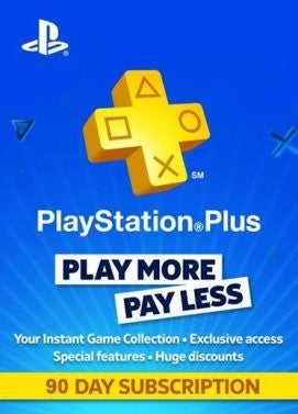 Playstation Network [PSN] | Subscription | 90 Days | Switzerland