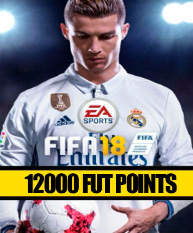 FIFA 18 | 12000 FUT Points | Cash Card