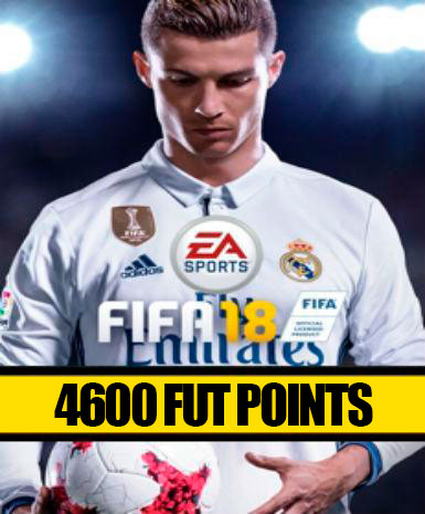 FIFA 18 | 4600 FUT Points | Cash Card