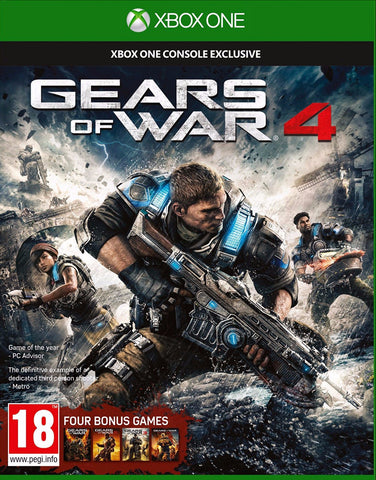 Gears of War 4 Xbox One Game & Key