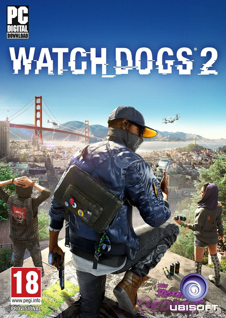 Watch Dogs 2 | PC Game | Uplay Key - www.15digits.co.uk