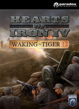 Pre-Order Hearts of Iron IV: Waking the Tiger | PC DLC | Steam Key