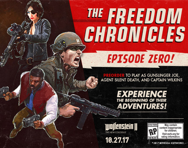 Wolfenstein II: The New Colossus The Freedom Chronicles: Episode Zero | PC DLC | Steam Key