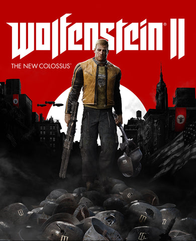 Wolfenstein II: The New Colossus | Pre-Order | PC Game | Steam Key