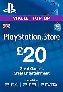 PlayStation Network | Cash Card | 20 POUNDS | UK