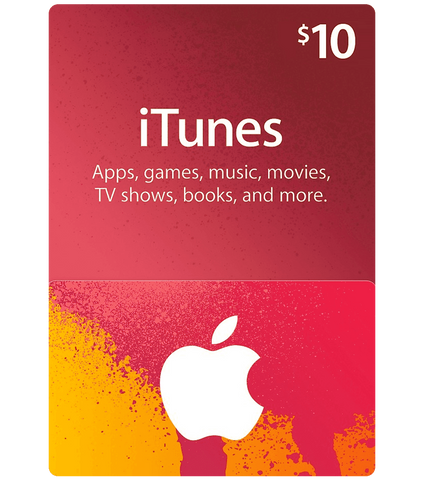 iTunes | Apple App Store | Gift Cards | 10 POUNDS | UK