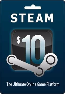 Steam Gift Card $10 | PC Games | Steam Wallet
