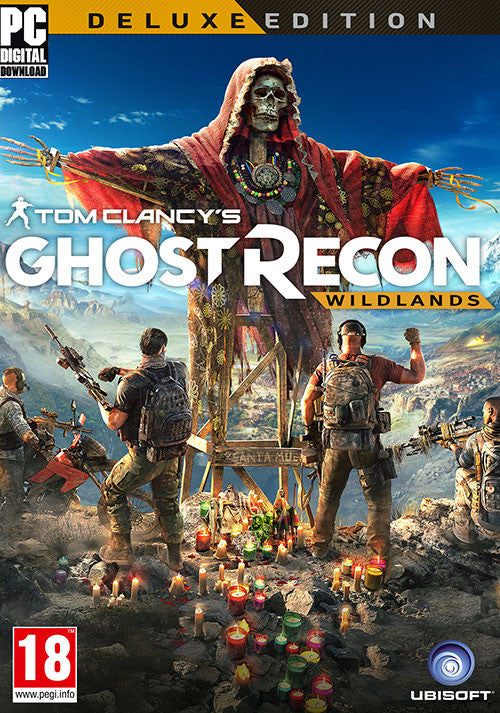 Tom Clancy's Ghost Recon: Wildlands- Digital Deluxe Pack (DLC)  | PC Game | Uplay Key