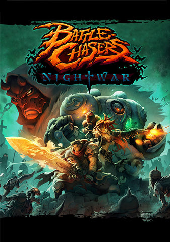 Battle Chasers: Nightwar | Pre-Order | PC Game | Steam Key