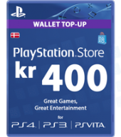 Playstation Network [PSN] | Cash Cards | 400 DKK | Denmark