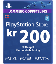 Playstation Network [PSN] | Cash Cards | 20 NOK | Norway