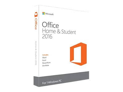 Microsoft Office Home and Student 2016 - Licence - Download