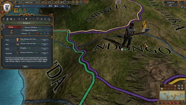 Europa Universalis IV Rights of Man | PC Game | Steam Key | Screenshot 2