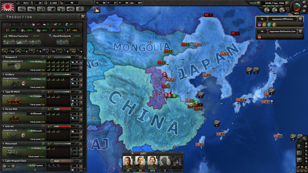 Hearts of Iron 4 IV (Uncut) | PC Game | Steam Key | Screenshot 3