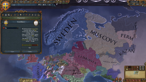 Europa Universalis IV Rights of Man | PC Game | Steam Key | Screenshot 4