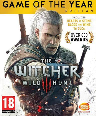 The Witcher 3 Wild Hunt GOTY | PC Game | Steam Key