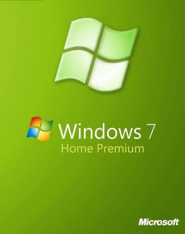 Microsoft Windows 7 Home Premium w/SP1 - 1 PC