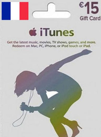 iTunes | Apple App Store | Gift Cards | 15 EURO | France