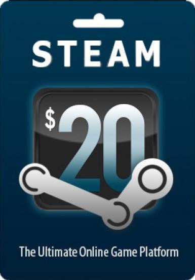 Steam Gift Card $20 | PC Games | Steam Wallet
