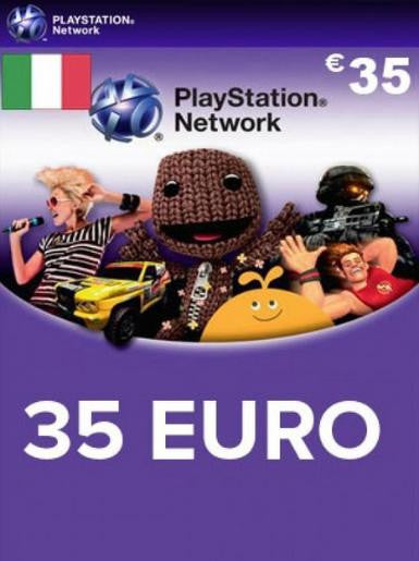 PlayStation Network [PSN] | Cash Card | 35 EURO | Italian - www.15digits.co.uk