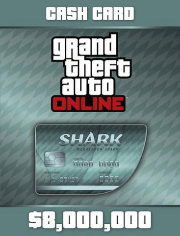 GTA VI Megalodon Shark Cash Card | PC Game | Cash Card