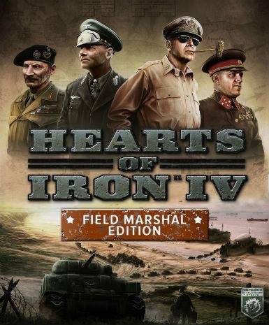 Hearts of Iron 4 (Field Marshal Ed) | PC Game | Steam Key