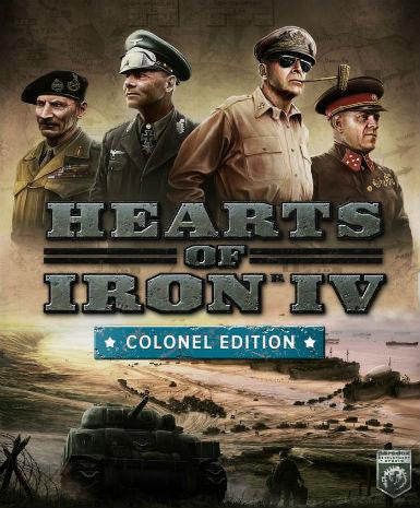 Hearts of Iron 4 IV (Colonel Edition) | PC Game | Steam Key