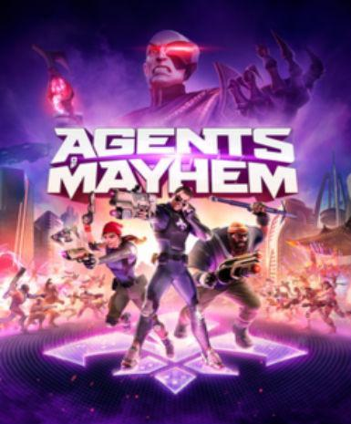 Agents of Mayhem Packshot | 15 Digits | Steam Key