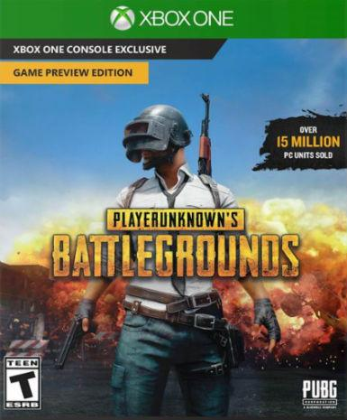 PlayerUnknown's Battlegrounds Game Preview Edition [Xbox One Game]