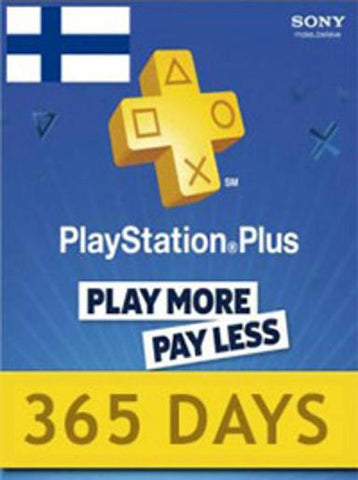 Playstation Network [PSN] | Subscription | 365 Days | Finland - www.15digits.co.uk