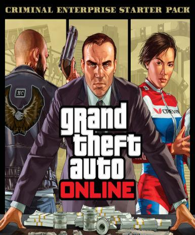 Grand Theft Auto V GTA: Criminal Enterprise Starter Pack | PC Game | Rockstar Key