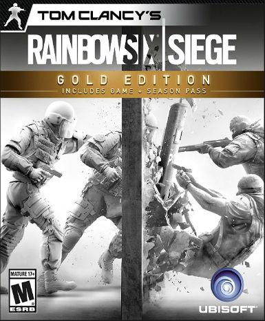 Tom Clancy's Rainbow Six: Siege [Gold Edition Year 3] | PC Game | Uplay Key