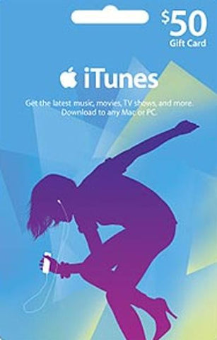 iTunes | Apple App Store | Gift Cards | 50 DOLLARS