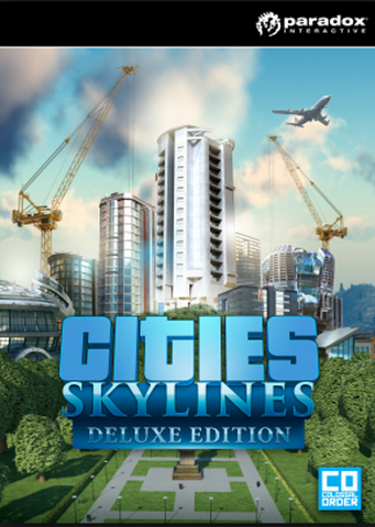 Cities: Skylines Digital Deluxe Ed | PC Game | Steam Key