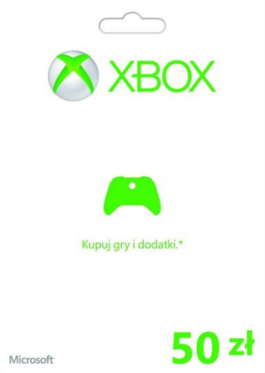 Xbox Live Gold | Cash Card | 50 PLN