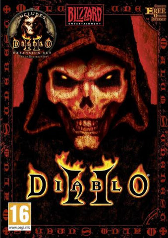 Diablo 2 [Gold Edition incl. Lord of Destruction] | PC Game | Battle.net Key