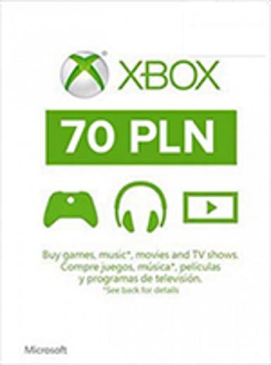 Xbox Live Gold | Cash Card | 70 PLN