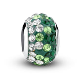 European Silver Enamel Murano Glass Crystal Beads fit Pandora Bracelet - DHUAHU LLC - 4