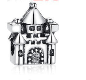 Castle Charms Beads fit Pandora Bracelet - DHUAHU LLC