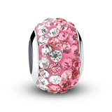 European Silver Enamel Murano Glass Crystal Beads fit Pandora Bracelet - DHUAHU LLC - 5