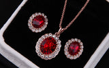 Red Emerald Crystal Set - DHUAHU LLC - 4