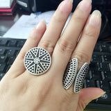 New Bohemia Unique Ring Set 2pcs - DHUAHU LLC - 2