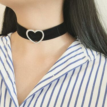 Spring Choker Love & Heart