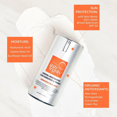 Natural Moisturizing Face Sunscreen and Primer | SPF 30 (9064312135)