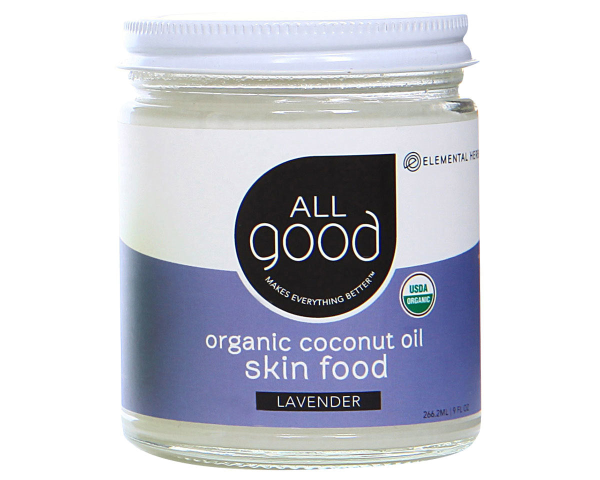 Organic Lavender Coconut Oil Skin Food